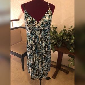 Spaghetti Strap Summer Dress, Size 14